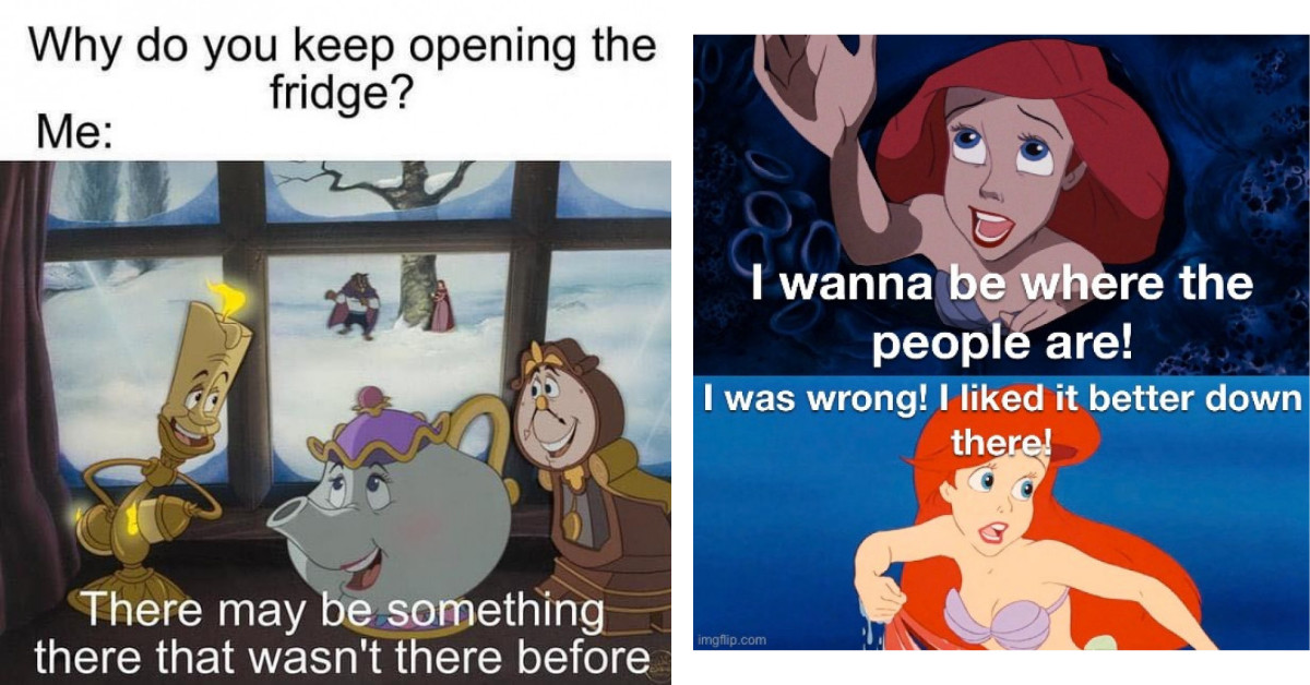 26 Funny Disney Memes You Didn't Know You Needed Before Right Now