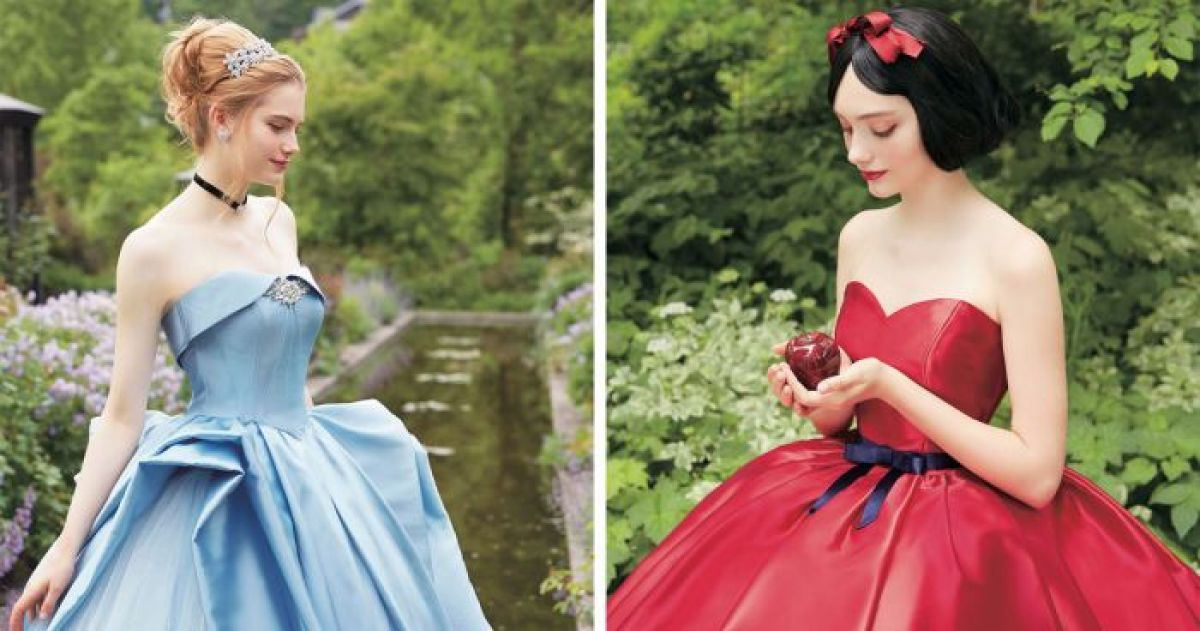 A Japanese Wedding Company Has Collabed With Disney To Give Us The ...