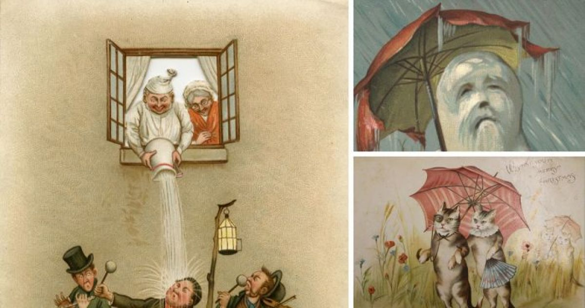 16 creepy victorian christmas cards that will give you nightmares