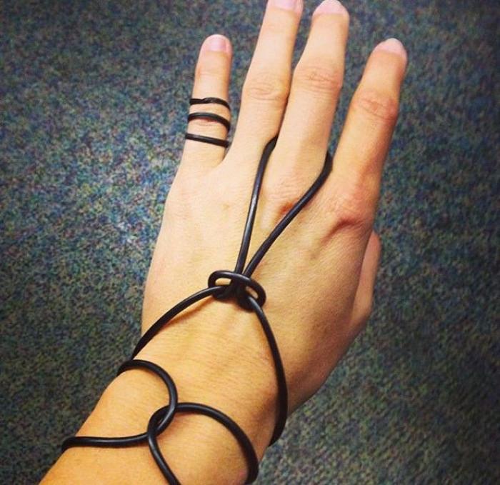 19. Jelly bracelets