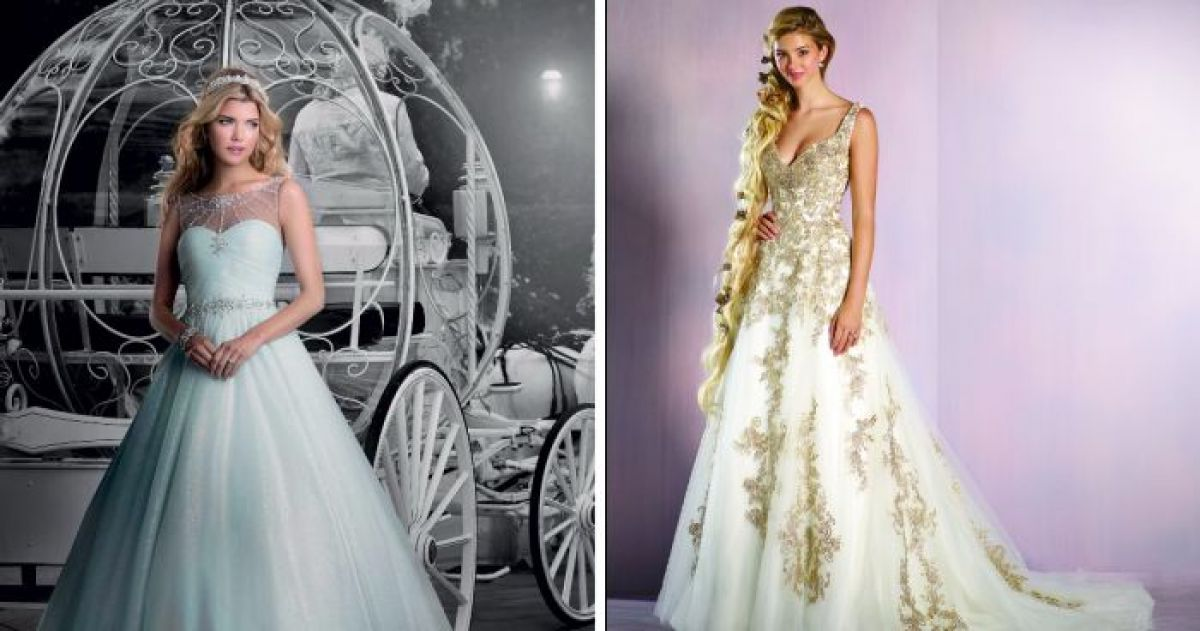 10+ Of The Most Beautiful Disney Inspired Wedding Dresses