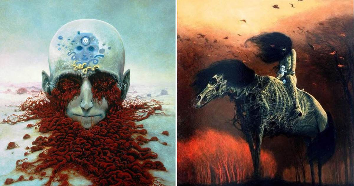 Peoples Nightmares Turned Into Paintings That Will Absolutely Terrify You