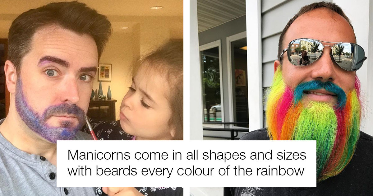 Manicorns and Galaxy Glitter Beards Are The New Man Buns