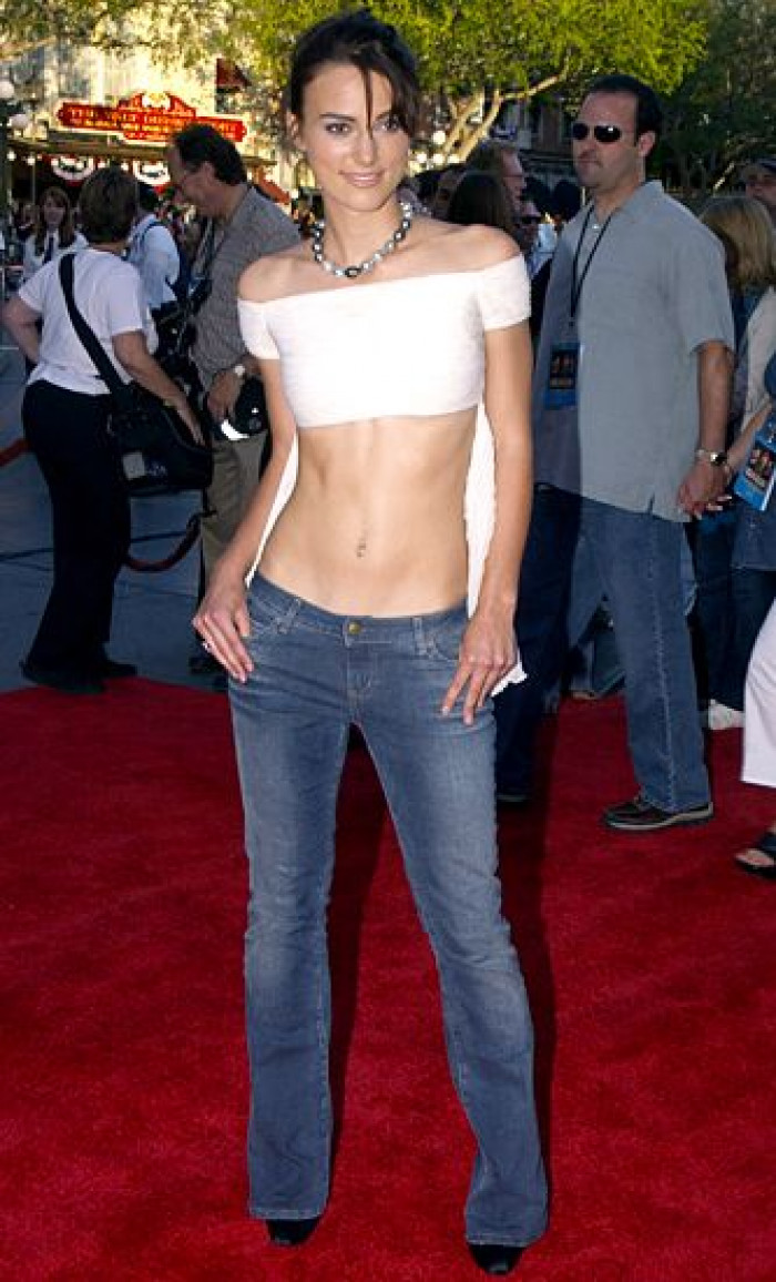 11. Super low cut jeans