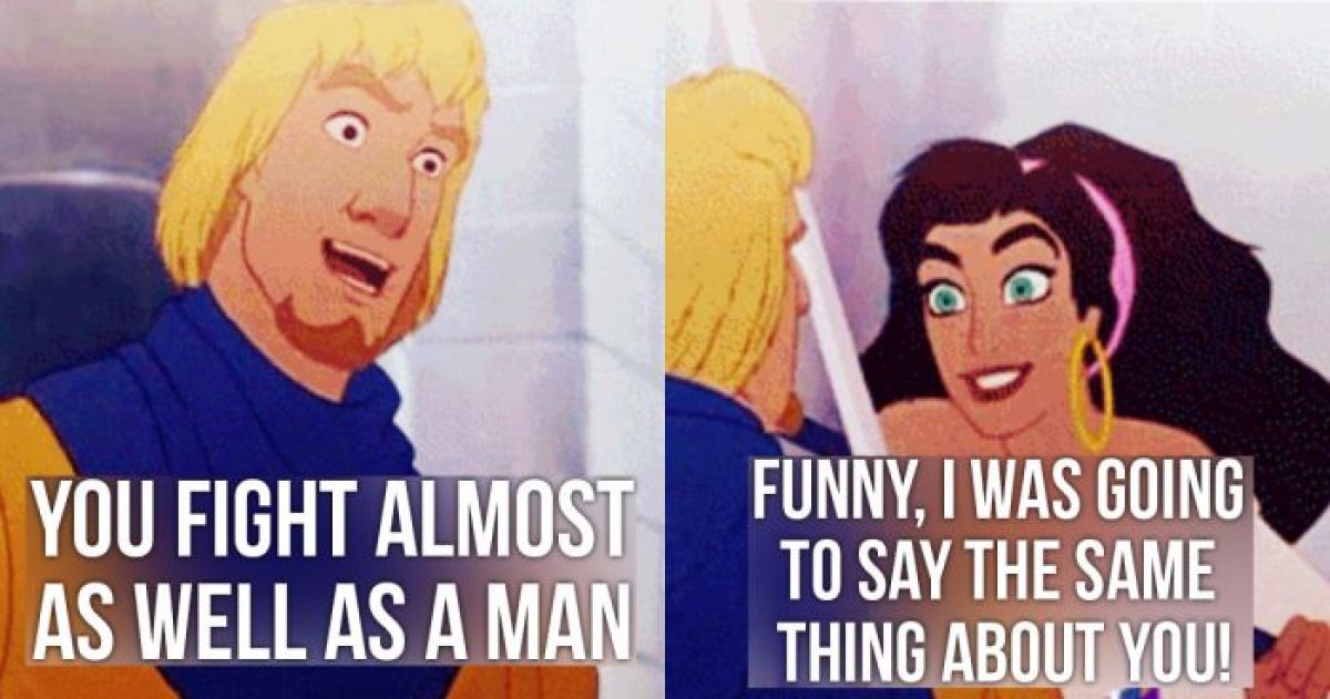 17 Most Savage Insults and Come Backs From Disney Characters