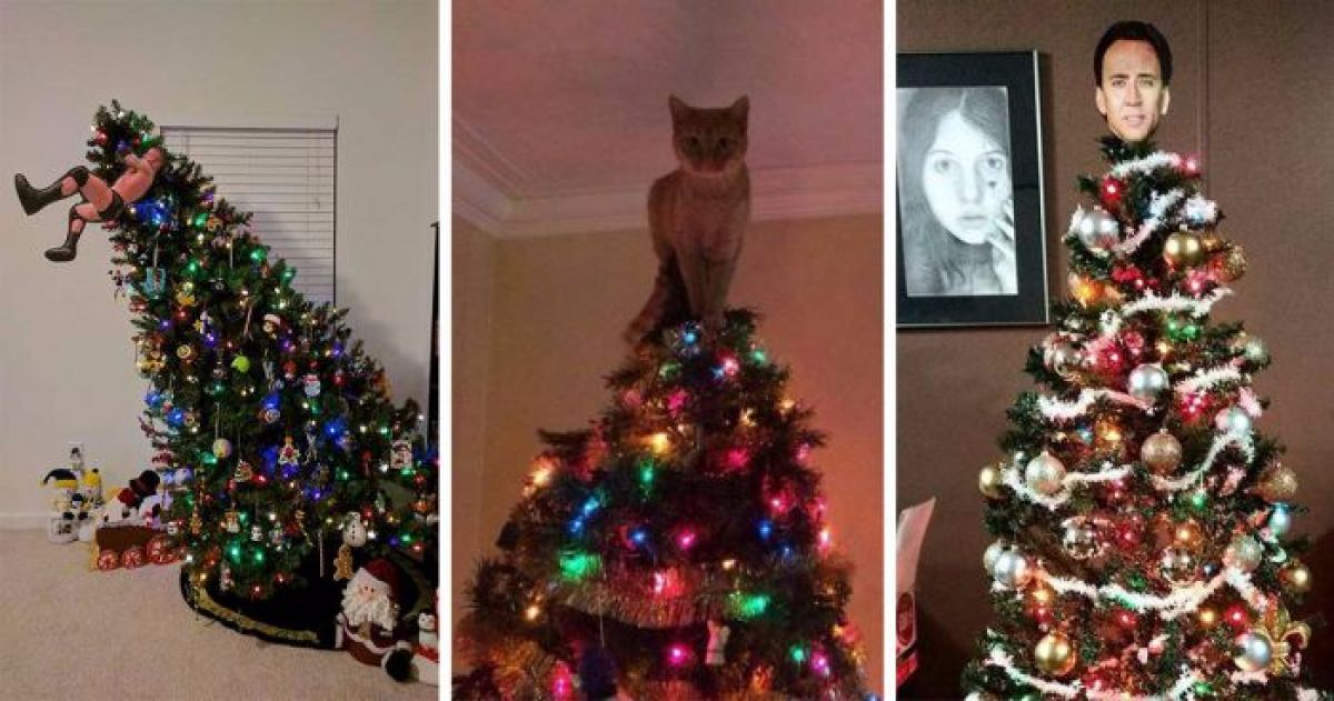 16 Hilarious And Unique Christmas Tree Toppers