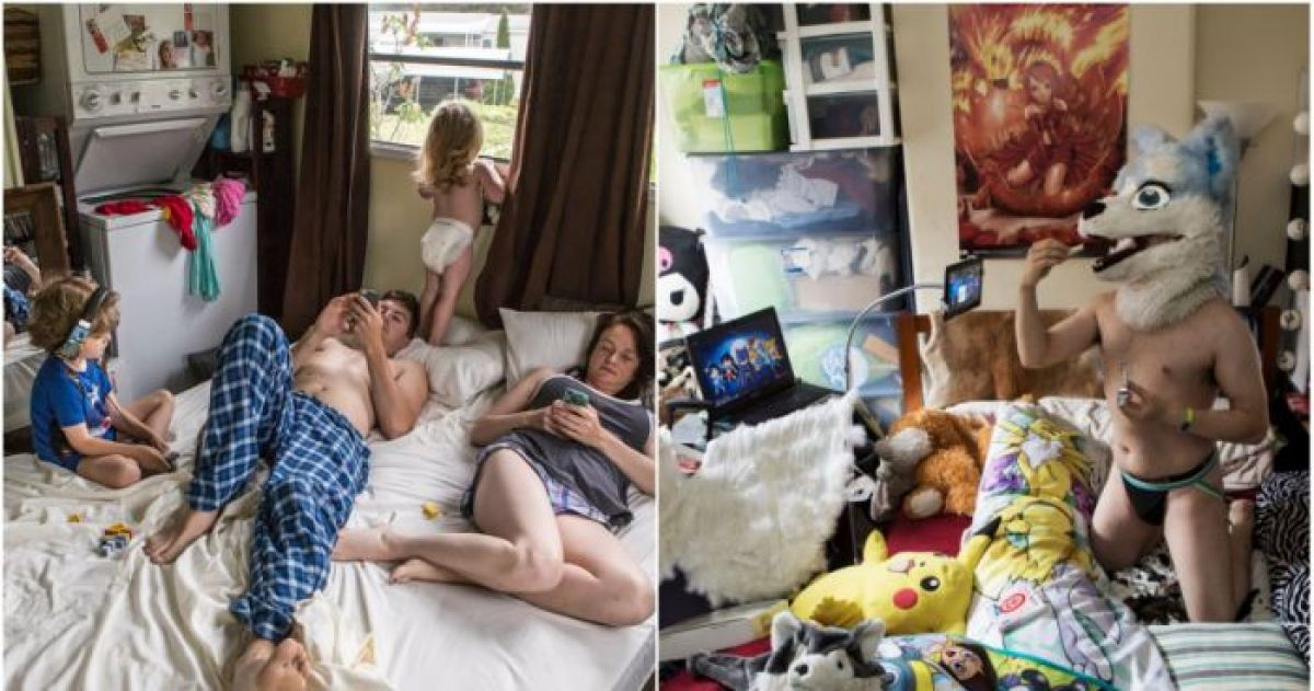 This Photographer's Bedroom Project Sheds Fascinating Light On Americans