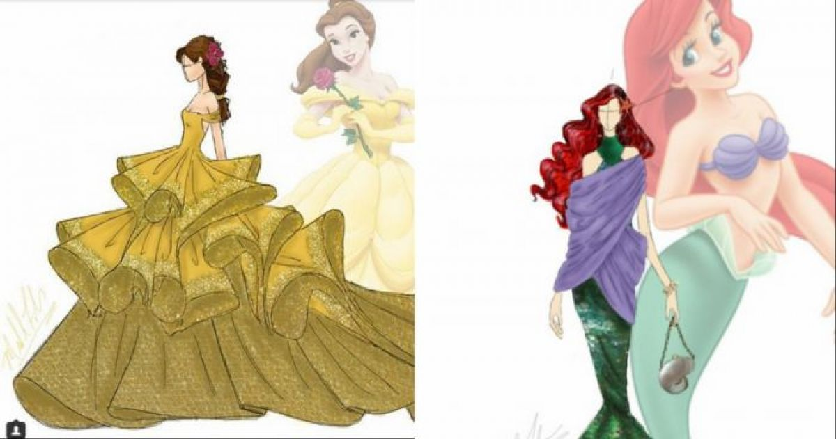 13 Disney Inspired Fashion Gowns Every Real Life Princess Needs