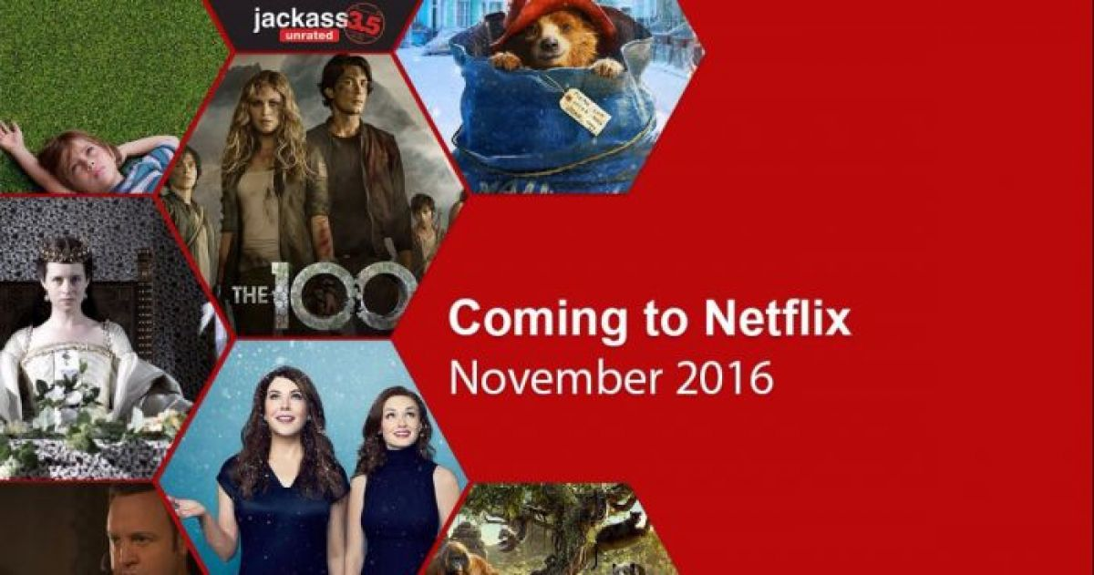 Here's What's Coming to Netflix This November