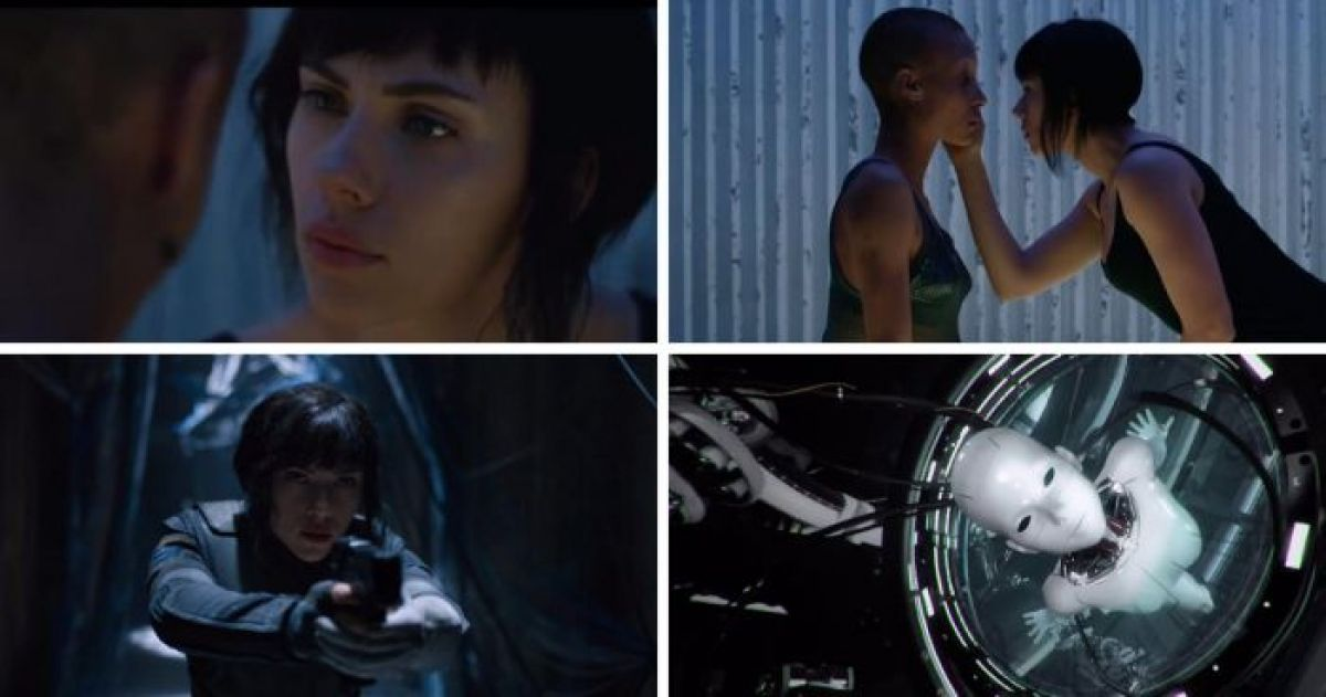 Check Out These 'Ghost in the Shell' Teasers