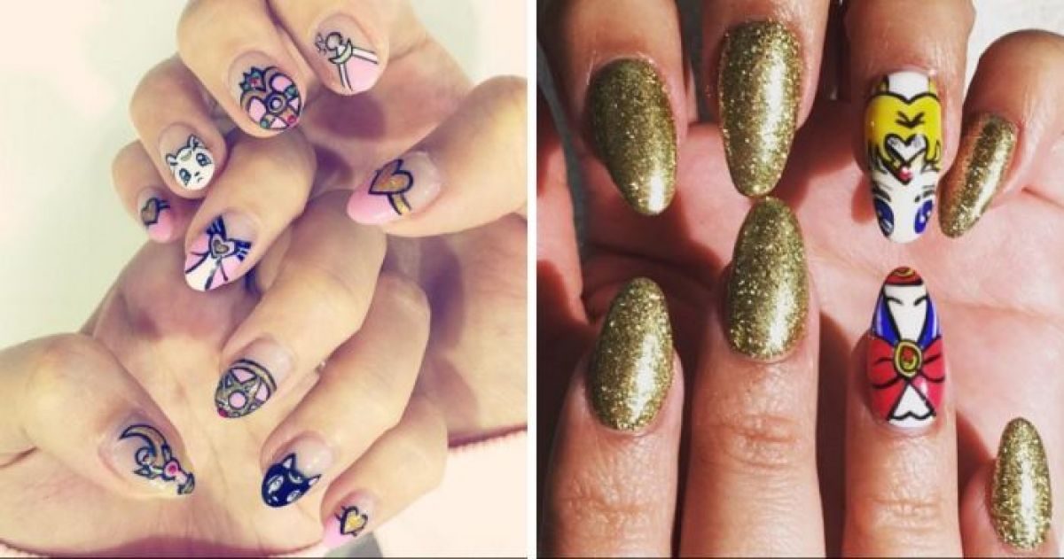 The 12 Best Nail Designs For A Sailor Moon Fanatic