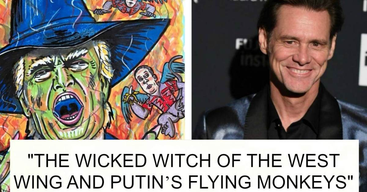 Jim Carrey Creates New Controversy All Over The Internet With His Paintings