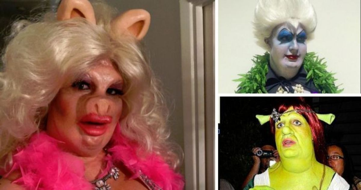 Colton Haynes Outdoes Himself at Halloween Again
