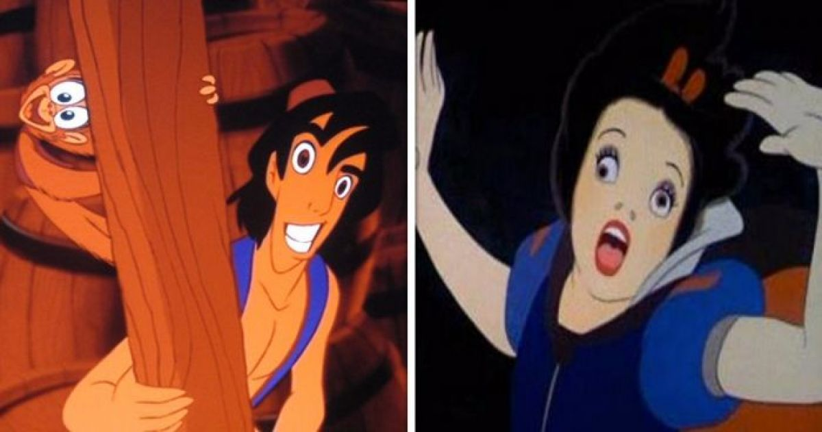 these 20 badly paused disney movies will definitely make your day