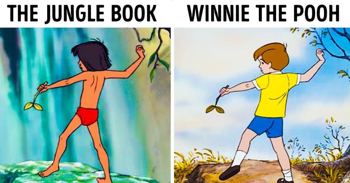Disney Used The Same Illustrations For Different Characters And You Might Not Have Realized It Before