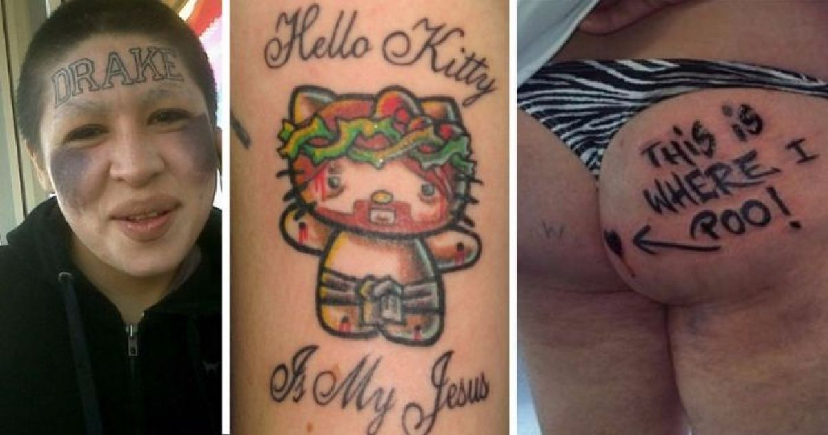 7b1a4282c820 16 Absolute Worst Tattoos That People Were Stupid Enough To Get