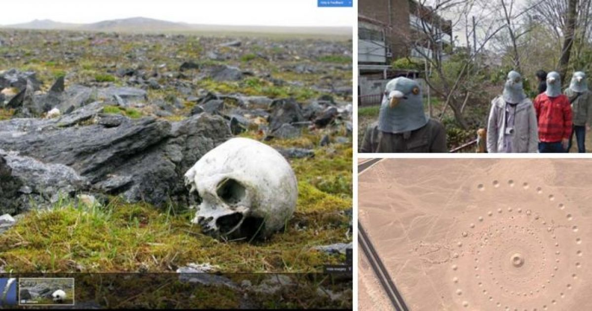 20 Things Found On Google Maps That Are Just Too Disturbing