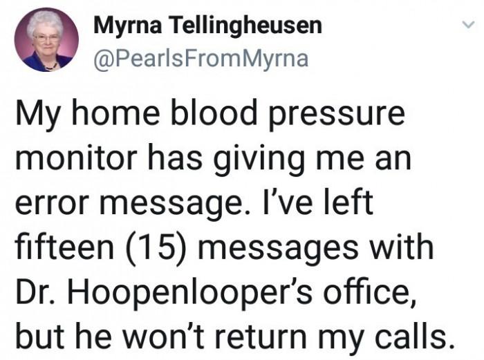 Dr. Hoopenlooper's busy