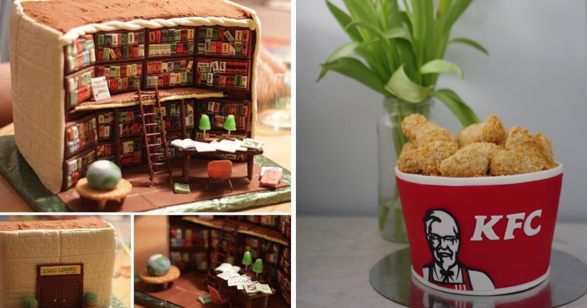 These Incredible Cakes Are Proof That Baking Is Only For Truly Creative People