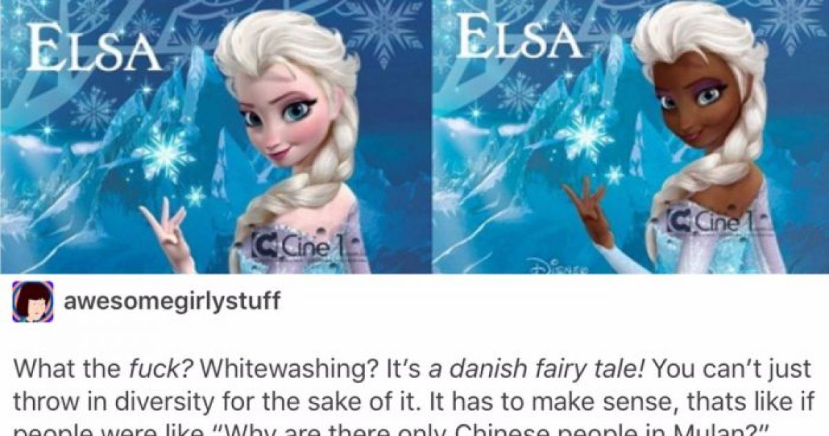 Tumblr Users Give The Perfect Response To The People Who Claim That Disney Is 'Whitewashed'