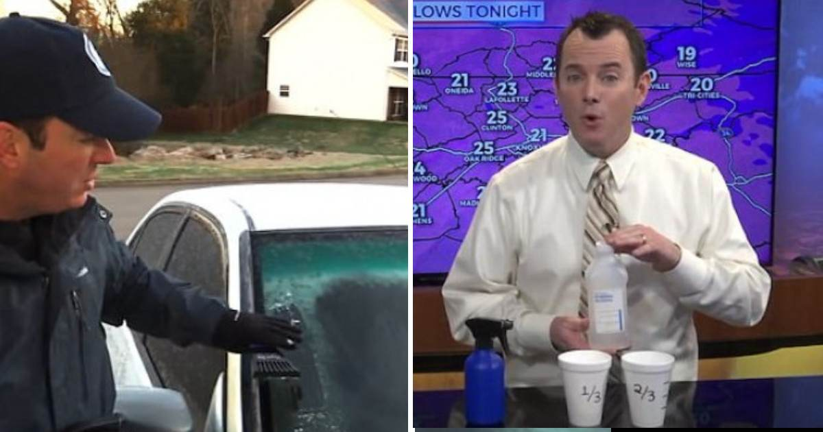 This Weatherman's Foolproof Life Hack For Melting The Winter Frost From Your Car Windows Resurfaces Online