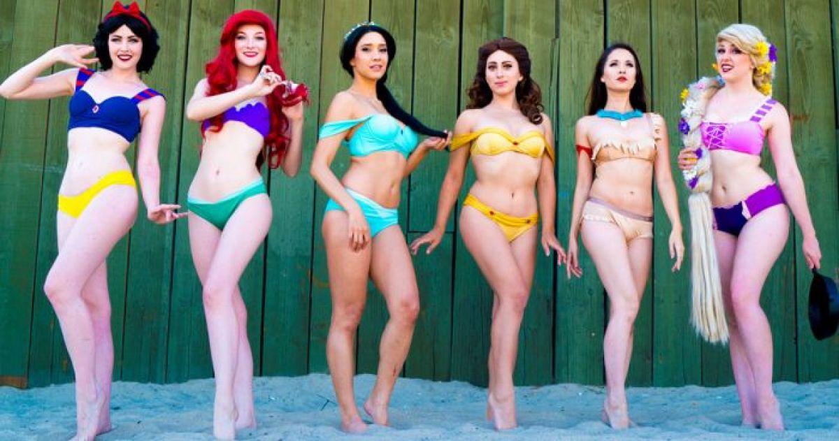 This Disney Princess 'Bikini Beach Cosplay' Will Definitely Take Your Breath Away