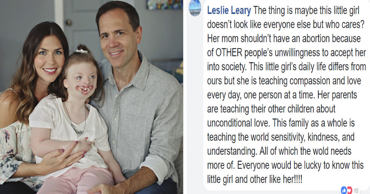 This Little Girl's Face Was Used To Promote Abortion, So Her Mom Got Sweet Revenge On The Trolls