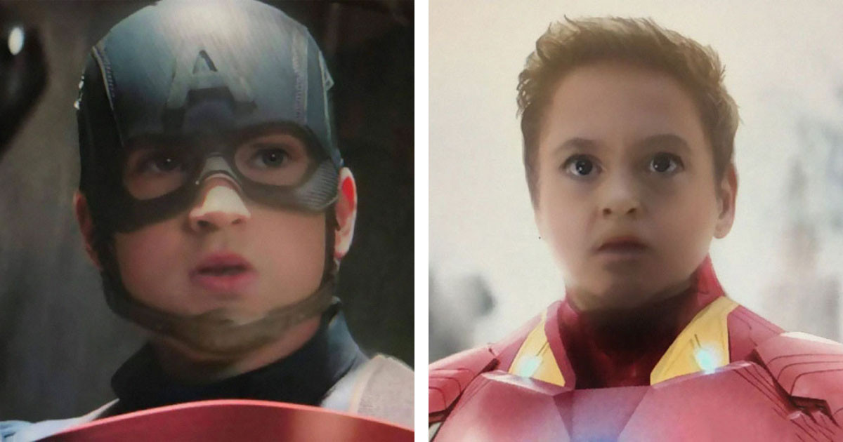 People Are Using The Snapchat Baby Face Filter On Marvel Characters And It's Adorable