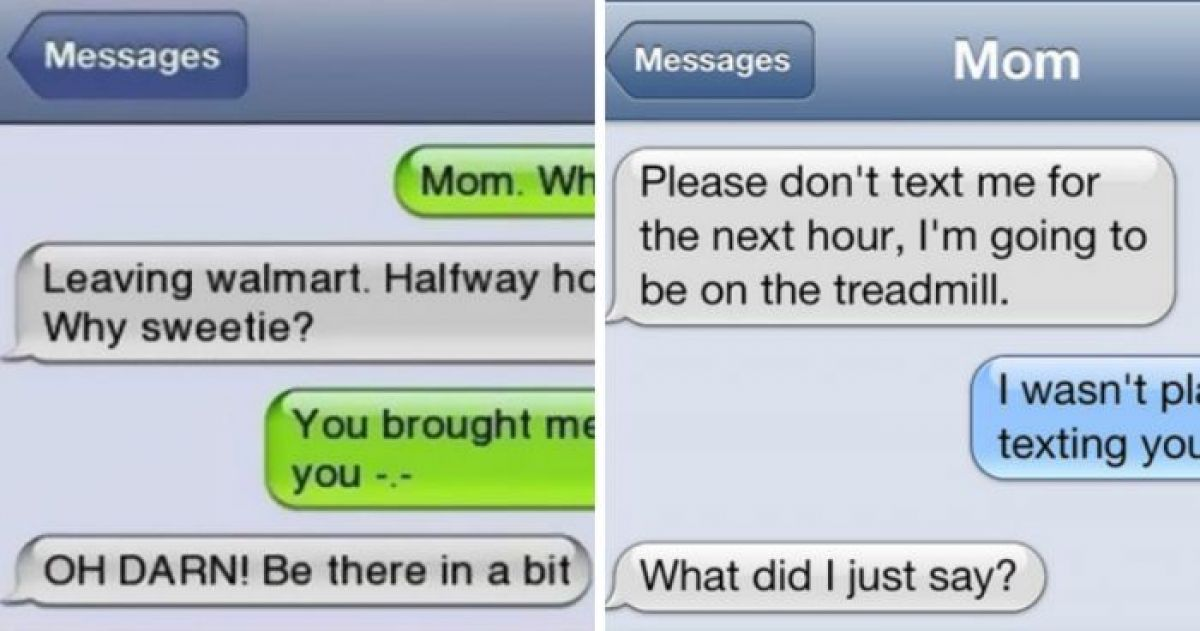 Hilarious Proof That Moms Should Only Text Under Supervision
