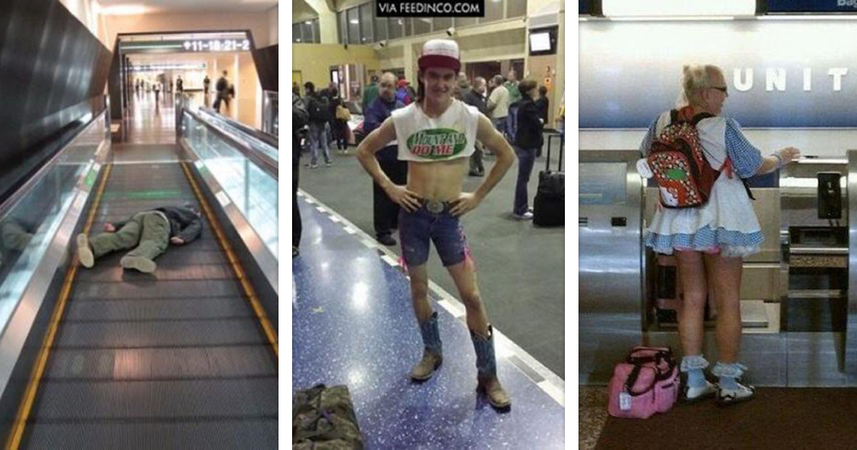 20 Hysterical Airport Fails That Will Prove You Should Avoid Airports