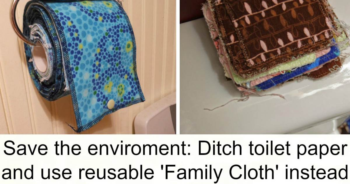 Forget Toilet Paper Because Reusable \'Family Cloth\' Is The New Trend