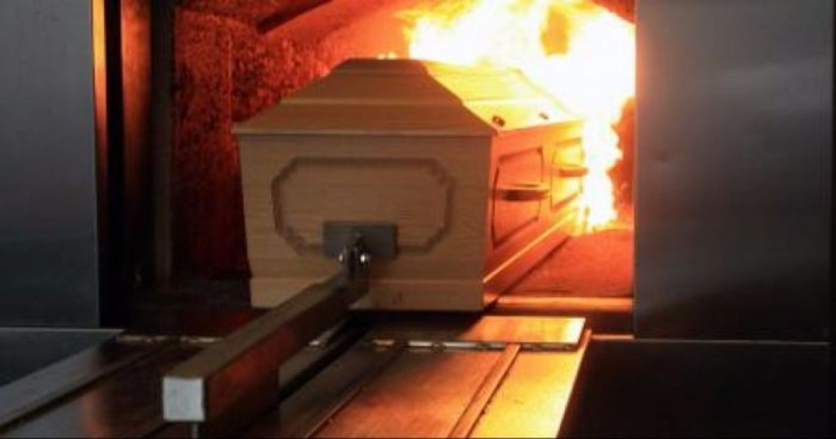 The Process of Cremation of the Human Body