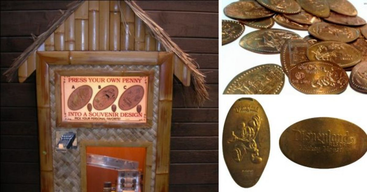 8 Fascinating Disney Resort Facts About Pressed Pennies