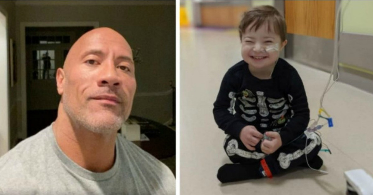 Dwayne Johnson Sings 'Moana' Song To 3-Year-Old Super Fan Fighting For His Life