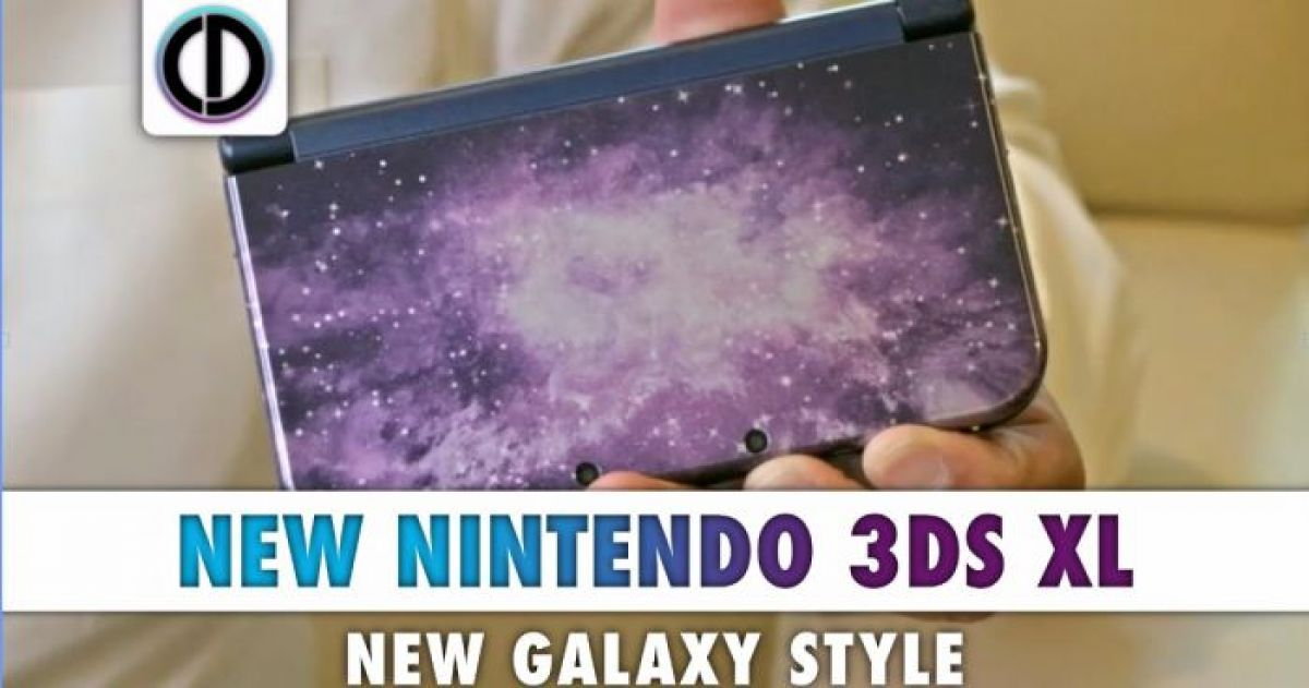 Nintendo's New Galaxy Style Nintendo 3DS XL To Hit North America This Week