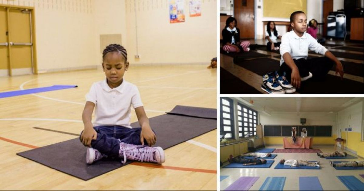 Maryland School Switches Detention Out With Meditative Classes