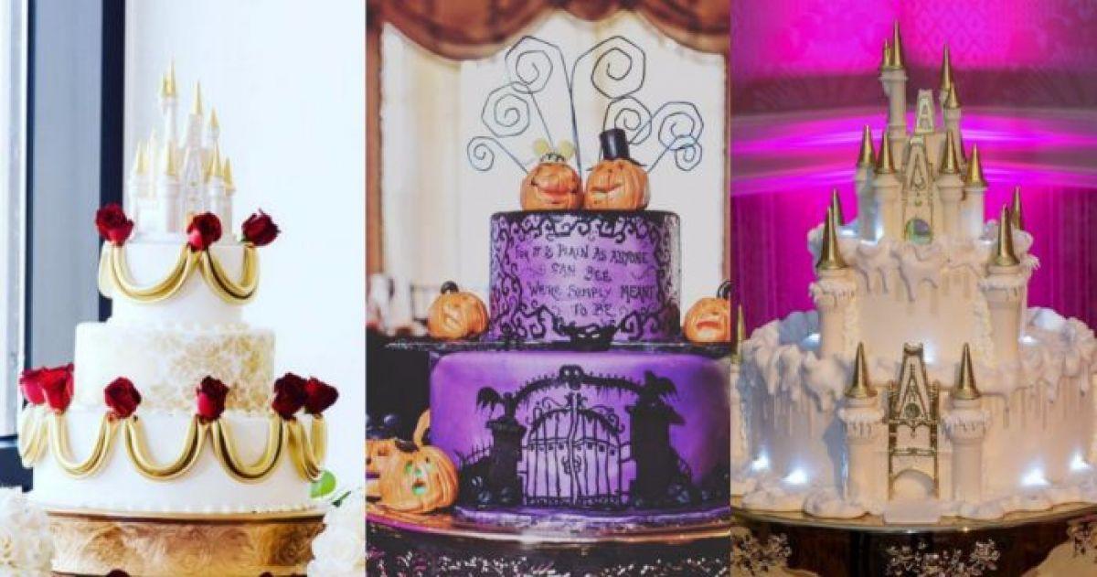 10+ Disney Themed Wedding Cakes Magical Enough To Make Your Dreams ...