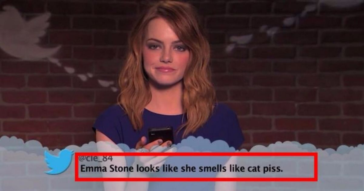 Celebrities Read The Most Brutal And Meanest Tweets About Themselves