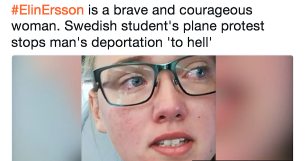 Student Activist Is Being Hailed As a Hero After Standing Up Against a Man's Deportation
