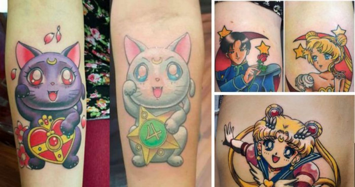 The 16 Best Sailor Moon Tattoos You\'ve Ever Seen