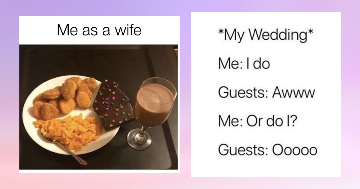 12 Hilarious Posts On Being A Wife That Are So Wholesome