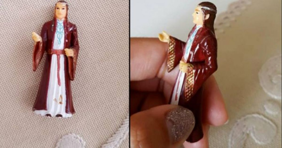 This Nan Spent Years Praying to LOTR Figurine