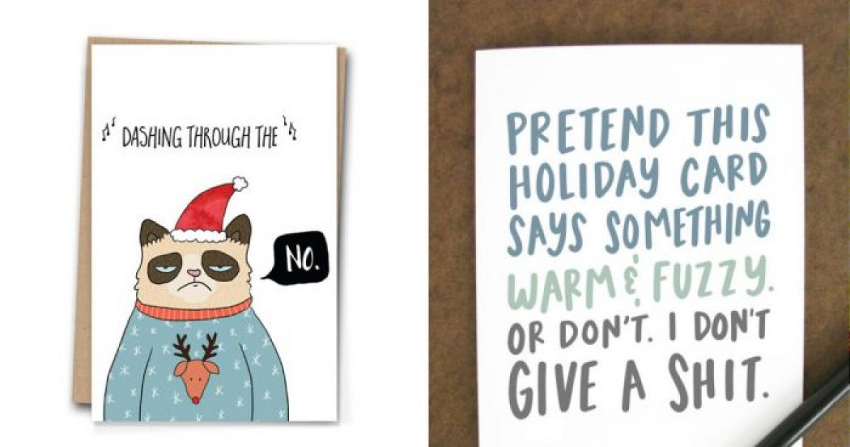 14 Christmas Cards For the Black Sheep in Your Family