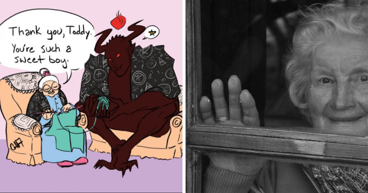 Tumblr User Writes A Story About A Demon And A Grandma And The Result Is Ridiculously Entertaining