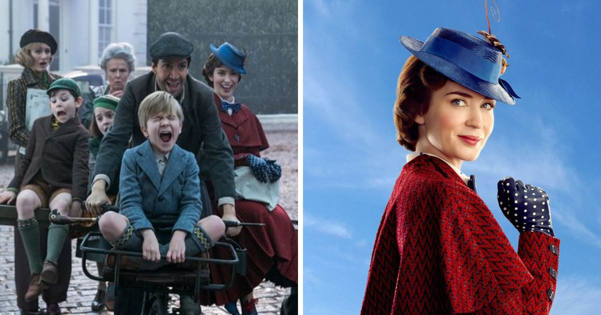 Disney Recently Released A Fun Mary Poppins Returns Photo And It's Just So Perfect