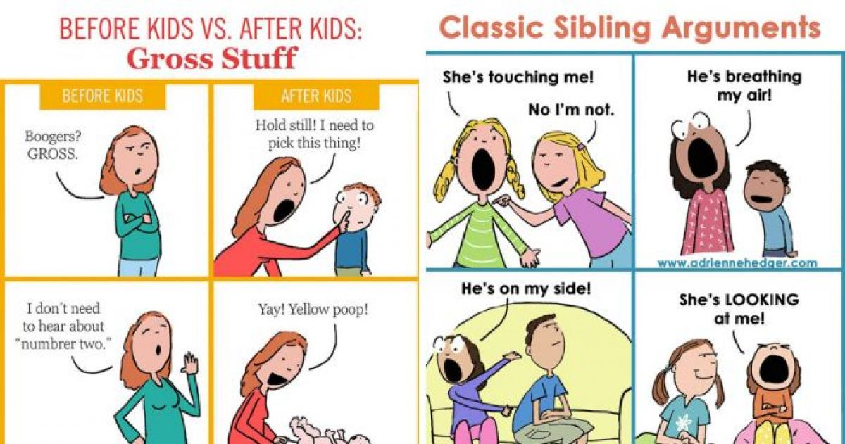 15 Comics Every Single Mom Ever Can Relate To