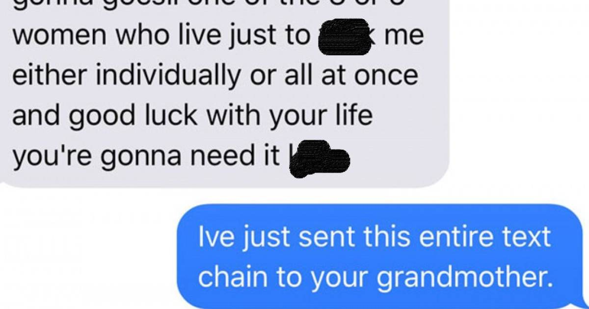 This Woman's Texts With A Former Classmate Was So Inappropriate That She Sent Screenshots To His Grandma