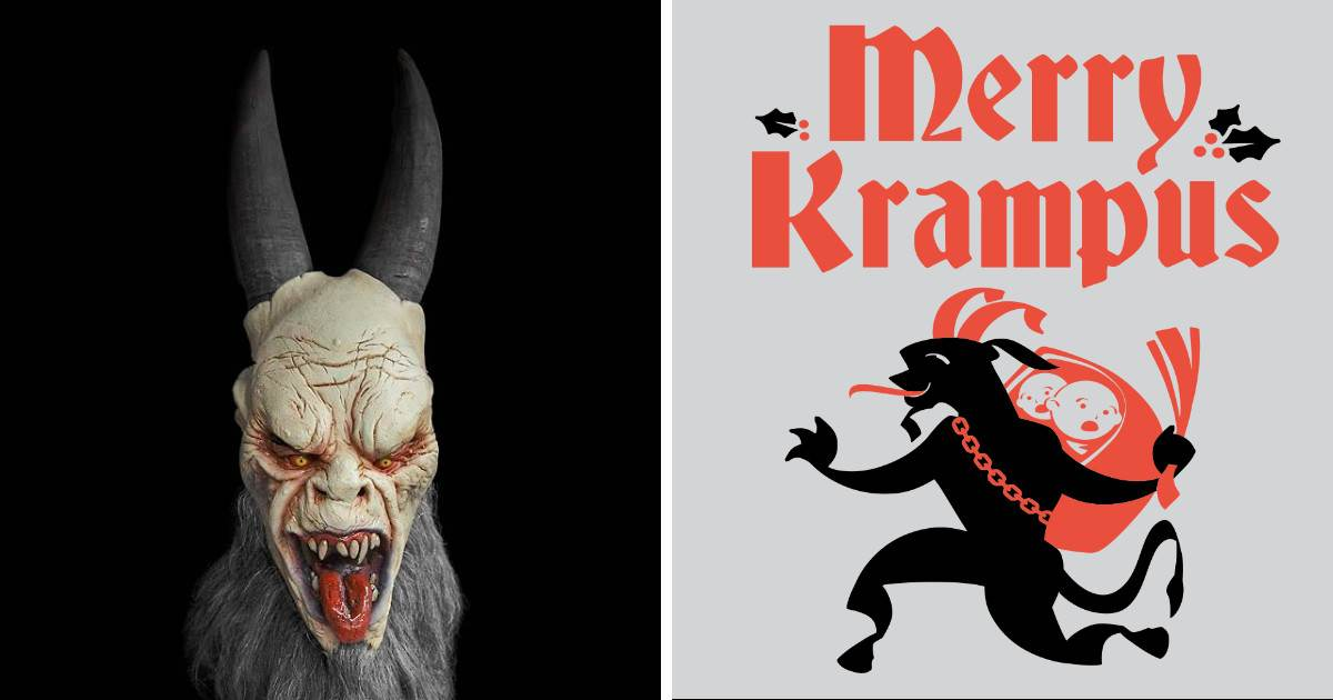 Krampus, Best Friends With Santa, Is The Strangest Demon-Filled Christmas Story Ever