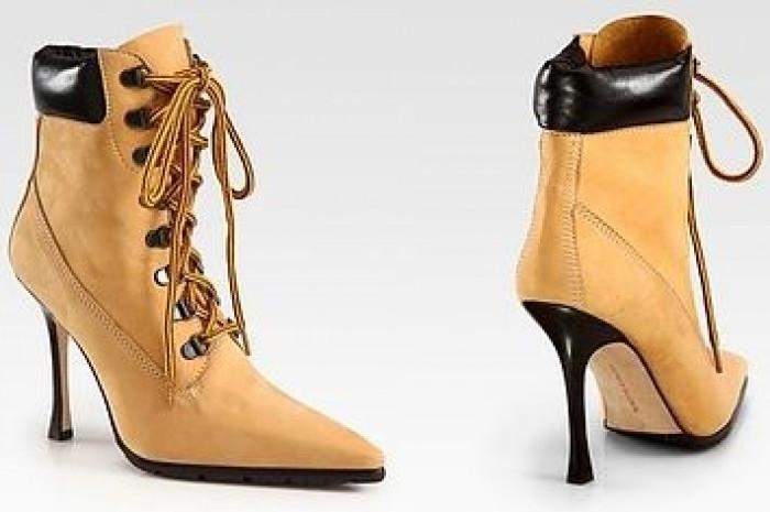 15. Timberland heels