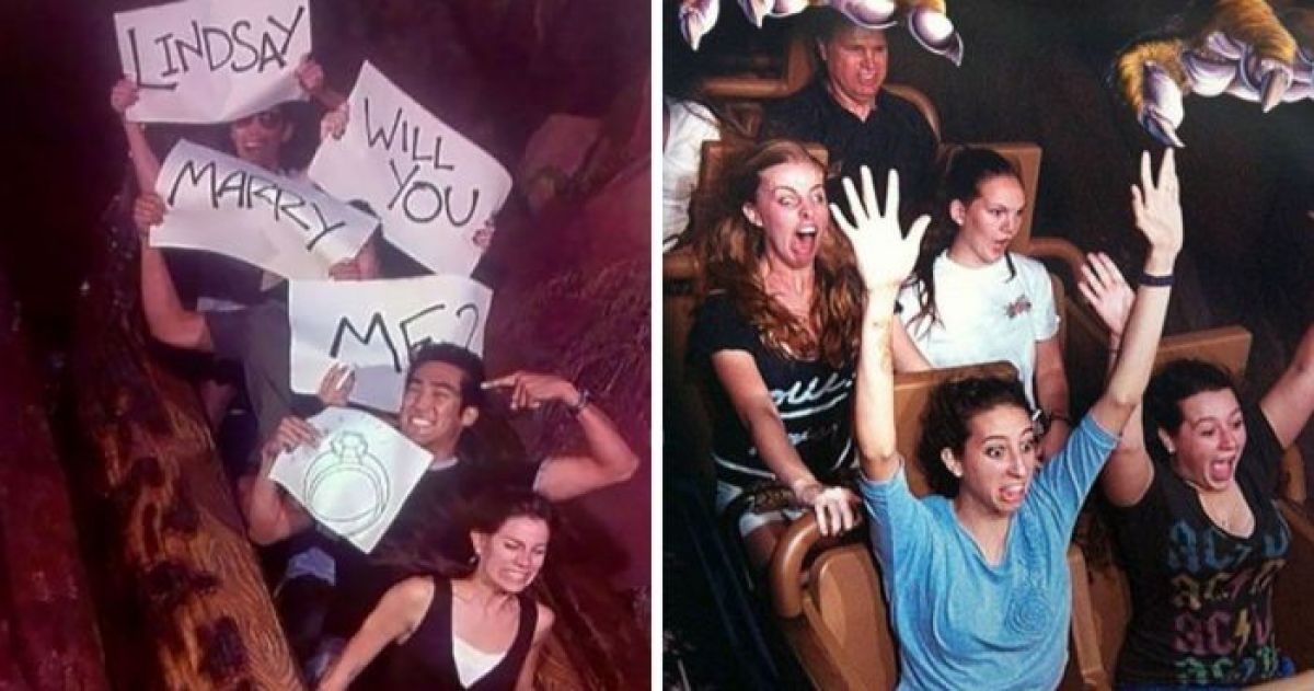 These 40+ Rollercoaster Photos Will Have You Rolling With Laughter